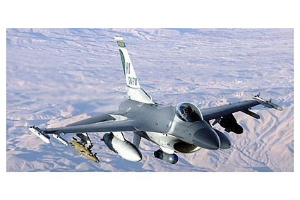 F-16 Fighting Falcon Aircraft Air Force Photo Print