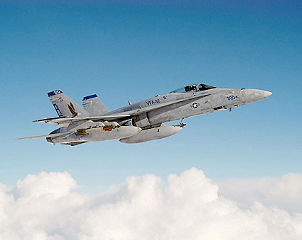 F-18 Hornet VFA-82 Marauders in Flight Navy Photo Print