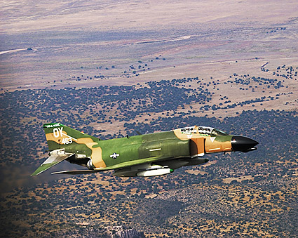 F-4 Phantom II Fighter Jet Aircraft Photo Print