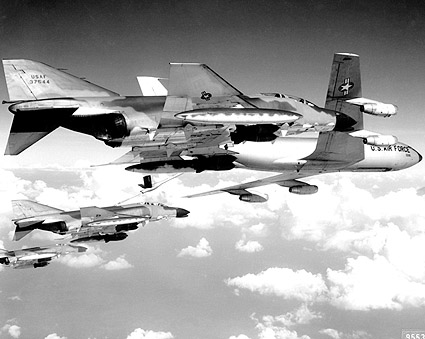 F-4C / F-4 Phantom Bomber & KC-135 Tanker Photo Print