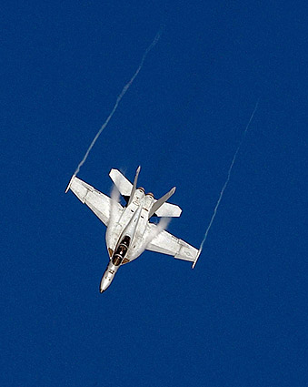 F/A-18F Super Hornet Aerial Demonstration Photo Print