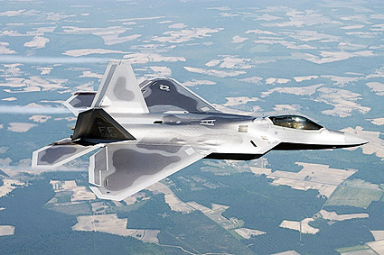 F/A-22 / F-22 Raptor Stealth Fighter DOD Photo Print