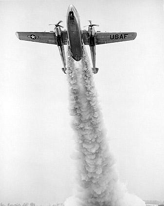 Fairchild C-119 Flying Boxcar Rocket Assist Photo Print