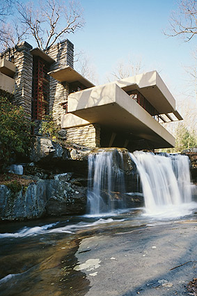 Fallingwater, Architect Frank Lloyd Wright Photo Print
