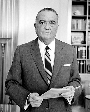 FBI Director J Edgar Hoover Portrait Photo Print