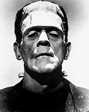 Film Actor Boris Karloff as Frankenstein's Monster Photo Print for Sale