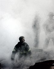 Fire Fighter World Trade Center 9/11 NYC Photo Print for Sale