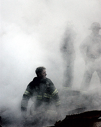 Fire Fighter World Trade Center 9/11 NYC Photo Print