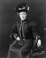First Lady Helen Herron Taft 1905 Portrait Photo Print for Sale