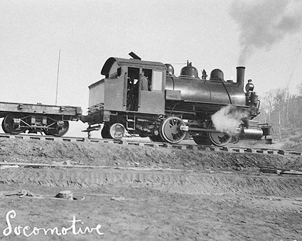 First Locomotive of Alaska U.S. Railroad Photo Print