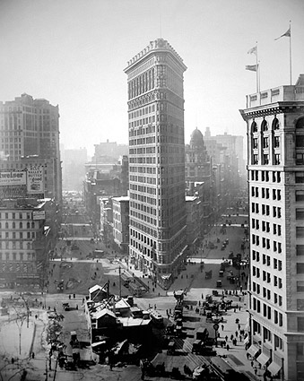 Flatiron Building 1916 New York City Photo Print