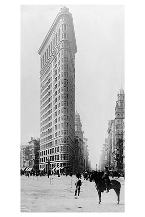 Flatiron Building, New York City 1905 Photo Print