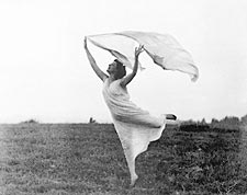 Florence Fleming Noyes Scarf Dance 1900 Photo Print for Sale