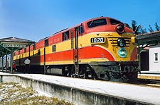 Florida East Coast E-7A Railroad  Photo Print for Sale