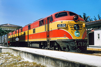 Florida East Coast E-7A Railroad  Photo Print