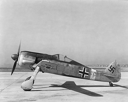 Focke-Wulf Fw 190 German Aircraft WWII  Photo Print