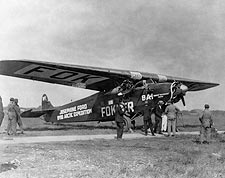 Fokker Trimotor 'Josephine Ford' Arctic Aircraft Photo Print for Sale