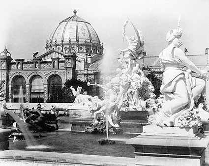 Fountain Coutan 1889 Paris Exposition Photo Print