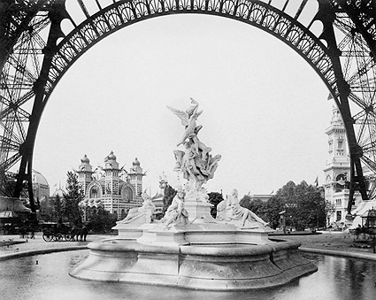 Fountain St. Vidal 1889 Paris Exposition Photo Print