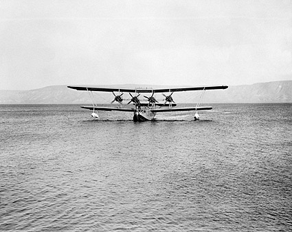Four Engine Kent Flying Boat Seaplane 1935 Photo Print