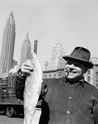 Fulton Fish Market New York by Gordon Parks Photo Print