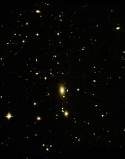 Galaxy Cluster Hubble Space Telescope Photo Print for Sale