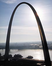 Gateway Arch in St. Louis, Missouri Photo Print for Sale