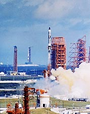 Gemini 11 Titan II Rocket Launch NASA Photo Print for Sale