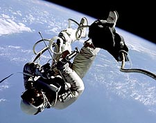 Gemini 4 Astronaut Ed White Spacewalk Photo Print for Sale