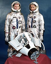 Gemini 4 Astronauts Edward White and James McDivitt NASA Photo Print for Sale