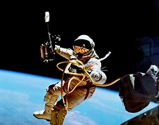 Gemini 4 Ed White 1st American Spacewalk Photo Print for Sale