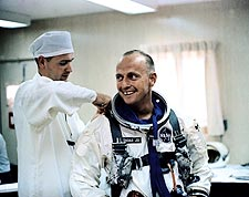 Gemini 5 Conrad Training Photo Print for Sale