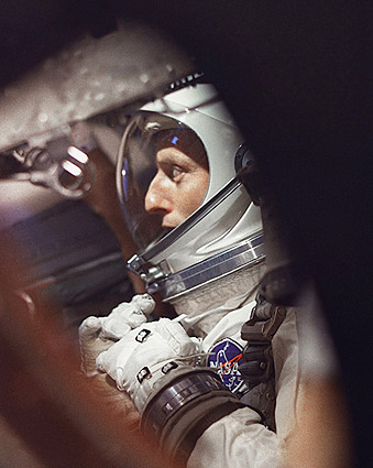 Gemini 5 Preflight w/ Pete Conrad Photo Print