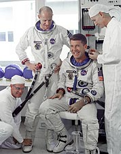 Gemini 6 Wally Schirra & Tom Stafford Photo Print for Sale