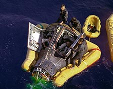 Gemini 8 Pacific Recovery Photo Print for Sale