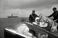 Gemini 9 Stafford & Cernan Recovery Photo Print for Sale