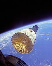 Gemini VI & VII Rendezvous over Earth NASA Photo Print for Sale