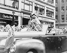 General Dwight D. Eisenhower in WWII Parade Photo Print for Sale