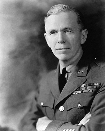 General George C. Marshall WWII Portrait Photo Print