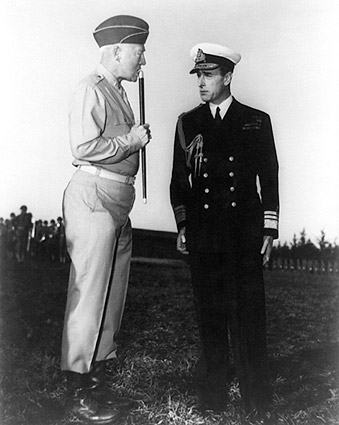 General George Patton & Lord Mountbatten Photo Print