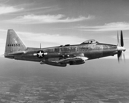 General Motors P-75 / P-75A Eagle in Flight Photo Print