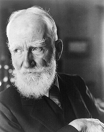 George Bernard Shaw Portrait 1934 Photo Print