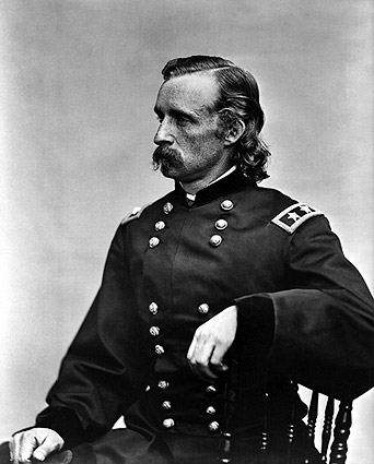 George Custer Seated Portrait Photo Print