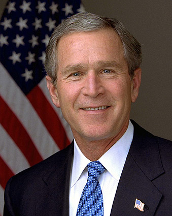 George W. Bush Official White House Photo Print