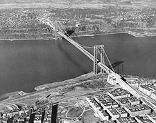 George Washington Bridge New York City Photo Print for Sale