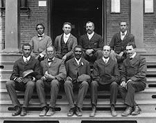 George Washington Carver & Staff Portrait Photo Print for Sale