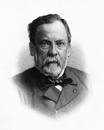 Germ Theory Father Louis Pasteur Portrait  Photo Print