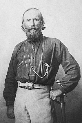 Giuseppe Garibaldi Italian Patriot Portrait Photo Print
