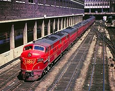 GM&O Railroad E-7A/F-7B/E-7A Train Photo Print for Sale