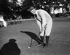 Golf Player Chick Evans Portrait Photo Print for Sale